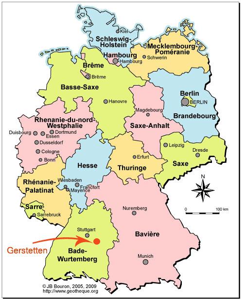 Allemagne Villes De Plus De   Habitants
